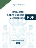 BOE-061 Impuesto Sobre Sucesiones y Donaciones