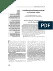 Consideraciones Farmacocineticas en El Paciente Crítico