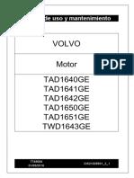 Manual de Uso y Mantenimiento TWD1643GE