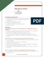 Curriculum Vitae OUATTARA About Karno_2017