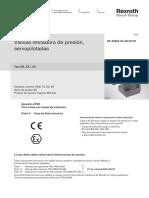 Catálogo Válvulas Limitadoras de Presión Mando Indirecto Rexroth - Servopilotada.pdf