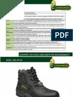 calzado comando.pdf