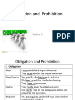 Obligation and Prohibition