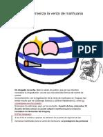 Uruguay- Comienza La Venta de Marihuana Recreativa