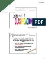 d16 Clasificacion