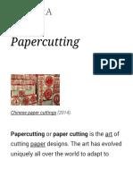 Papercutting - Wikipedia