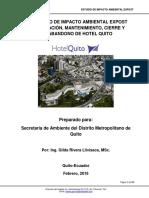 Estudio Borrador Hotel Quito