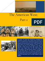 The American West Part 2
