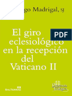 MADRIGAL, S., El Giro Eclesiologico en La Recepcion Del Vaticano II, 2017, OCR