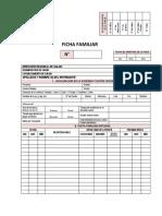 Formato de Ficha Familiar