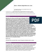 La Enfermedad Celíaca Criterios Diagnósticos en Curso