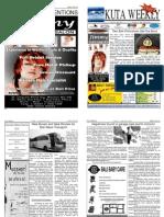 "Kuta Weekly-Edition 193 ""Bali""s Premier Weekly Newspaper"""