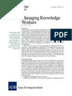 Managing Knowledge Workers