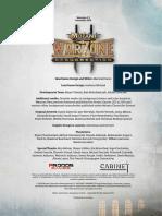 Werzone Base Rules