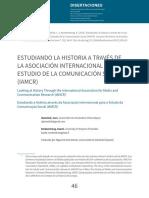 Estudiando La Historia a Través de La Asociación Internacional Para El Estudio de La Comunicación Social (IAMCR)