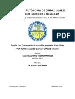 TUTORIAL Fpga and Matlab Simulink