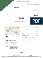 Gmail - Ola Share Receipt for OSN445025195