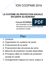 Protection Sociale - Présentation Burundi