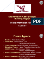 Easthampton School Building Committee presentation 6-29-17