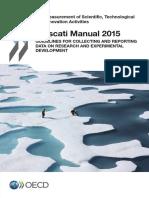 9215001e Frascati Manual 2015