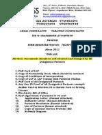 Checklist for Call Centre License in India