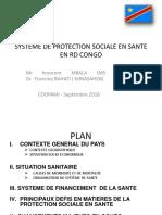 Protection Sociale - Présentation RDC