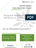 Programul National de Ingrijiri Paliative