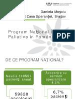 Programul National de Ingrijiri Paliative