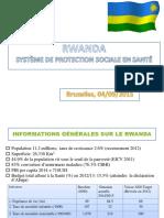 Protection Sociale - Présentation Rwanda 2
