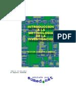 Metodologia a La Metodologia a La Investigacion