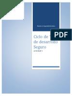 Ciclo de Vida de Desarrollo Seguro