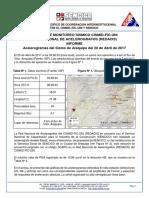 Info. Sismo Arequipa 20.04.17