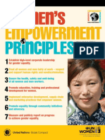UN Women's Empowerment Principles — Equality Means Business (2e 2011)