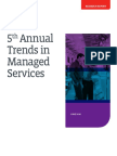 Comptia 5th Annual Trends in Managed Services