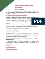 Formato de Proyecto de Investigaciòn Conferencia