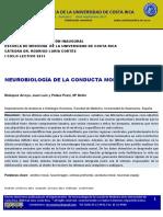 Neurobiologia de La Conducta Moral Humana
