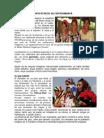 Grupos Etnicos de Centroamerica