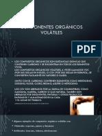 Componentes orgánicos volátiles