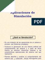 Aplicaciones de Simulacion
