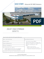Advanced Dx Ammonia Case Study Joliet Cold Storage Joliet Il