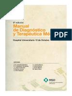 DIAGNÓSTICO. Manual de Diagnostico y Terapeutica Medica