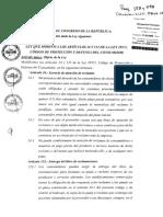 Ley Que Modifica Los Arts. 24 y 152 de La Ley 29571 (07.06.17)