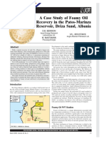 Bennion Et Al.-a Case Study of Foamy Oil Recovery in the Patos-Marinza Reservoir Driza Sand, Albania