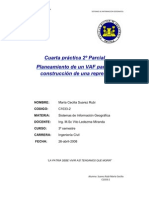 Planeamiento de un VAF para la construcción de una represa
