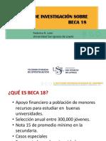 Exposición Sobre Beca 18 F R León