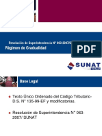 Regimen de Gradualidad-SUNAT