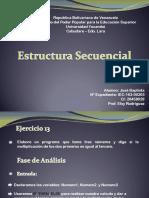 Estructura Selectiva Ej. 13 José Baptista