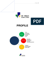 3d hitech systems limited profile consolidated
