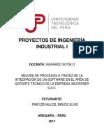 Proyectos de Ingeniería Industrial i