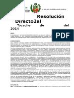 Resolucion de Comite de Proceso de Seleccion Modificado